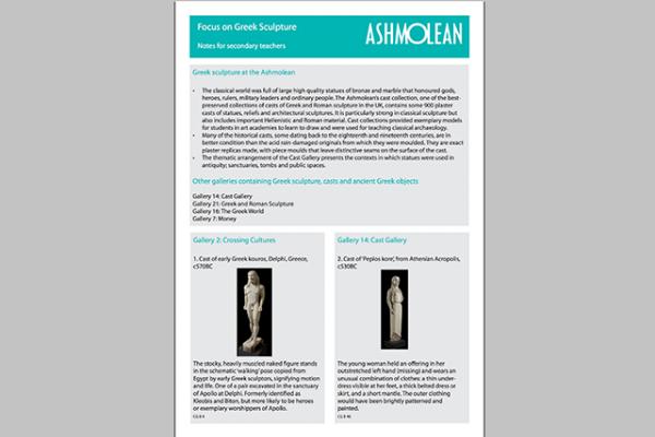 learn pdf focus on greek sculpture