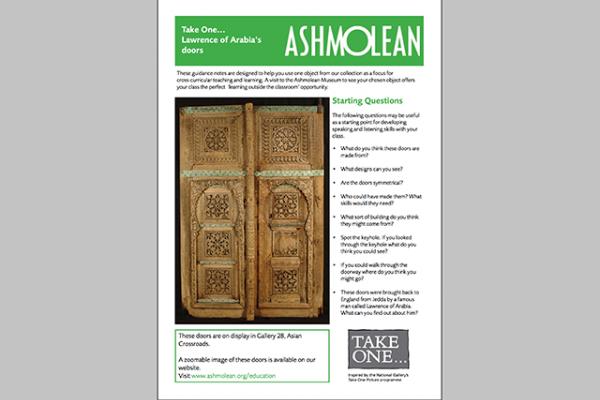 learn pdf take one lawrance of arabia's doors