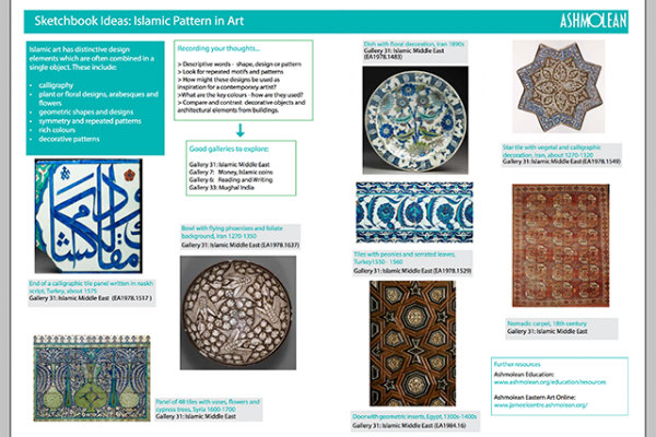 Learn PDF Sketchbook ideas Islamic Patterns in Art