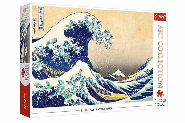 Great Wave Hokusai Jigsaw Puzzle Box