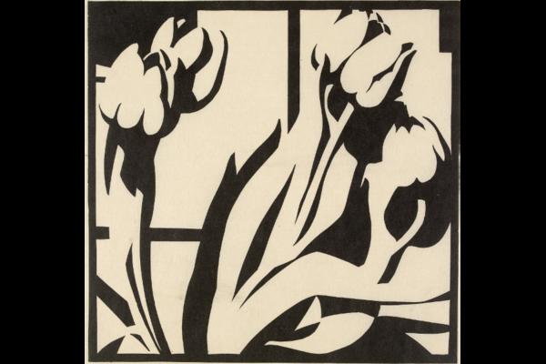 Robert Gibbings, Tulips (c)