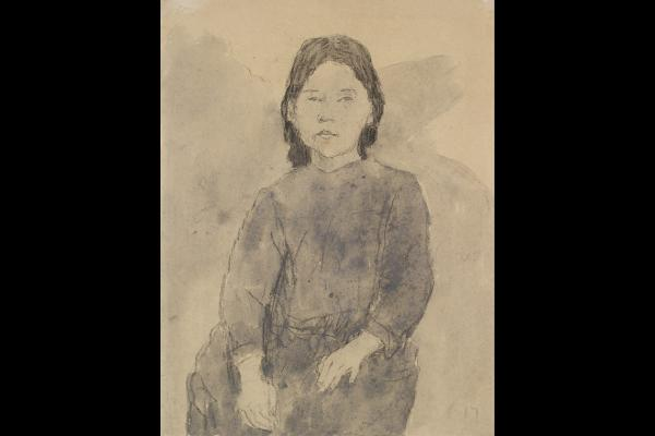 Gwen John, Seated Girl
