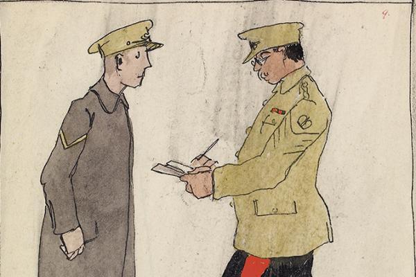 Claud Lovat Fraser, Divisional Artillery, R.F.A., December 1914, 1919, WA1975.101.28