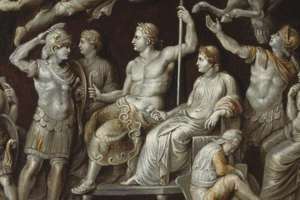 The Apotheosis of Germanicus (Gemma Tiberiana) by Sir Peter Paul Rubens (detail)