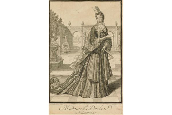 Claude-Auguste Berey (1651–1732), Madame la Duchesse de Valentinois