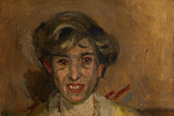 Ethel Sands by Walter Sickert