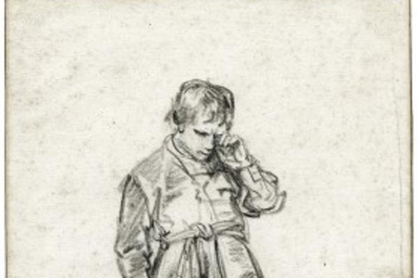 Rembrandt Crying Boy Talk Sketch