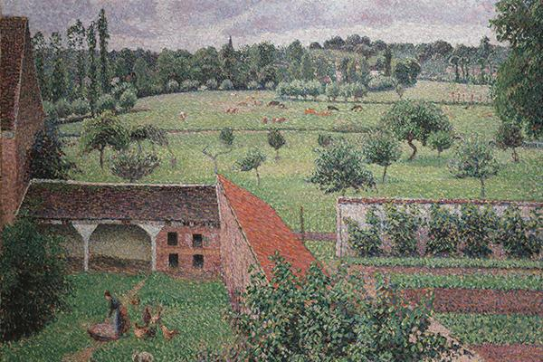 view from my window Camille Pissarro ashmolean