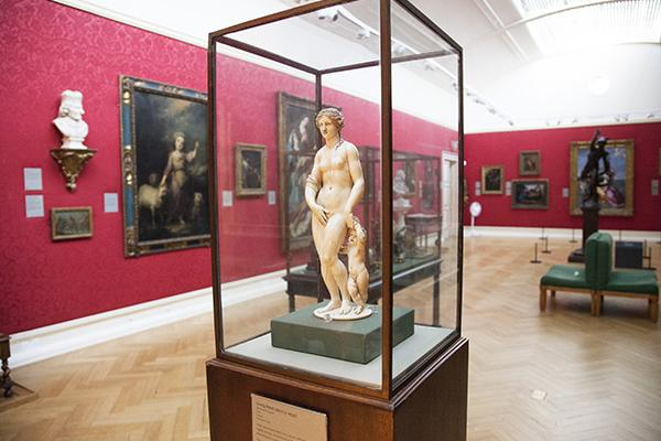 The Baroque Art Gallery at the Ashmolean Museum