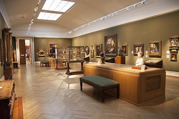 The Italian Renaissance Gallery at the Ashmolean Museum