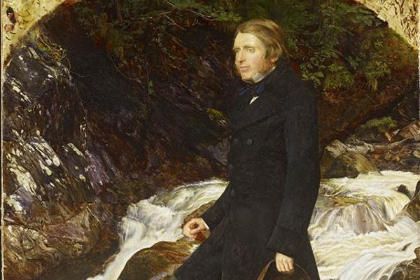 John Everett Millais (1829-1896) John Ruskin (detail)
