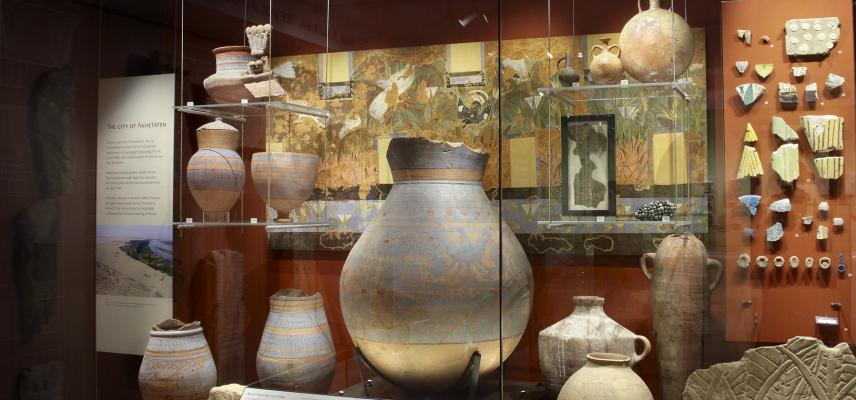 The Amarna Gallery at the Ashmolean Museum