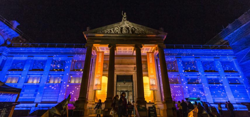 Ashmolean Museum at Night