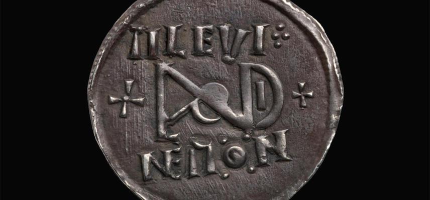 Silver coin inscribed Tilevine Mon