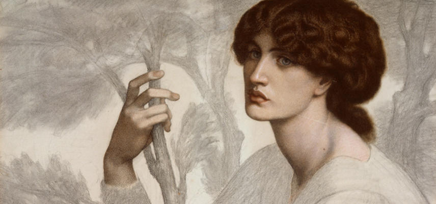 The Day Dream, by Dante Gabriel Rossetti WA1939.6