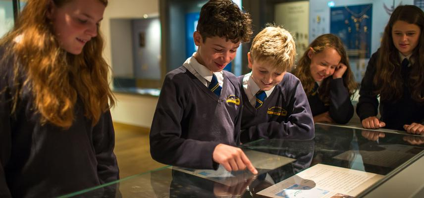 Watlington hoard school session