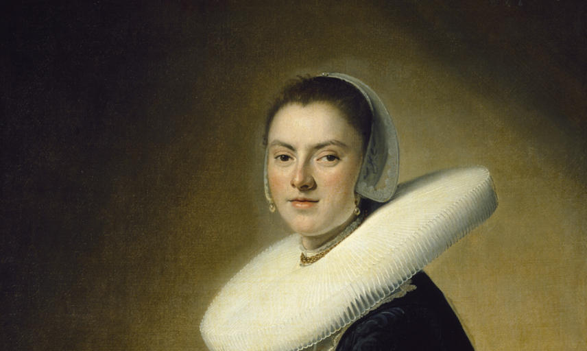 WA2004.102 Johannes Cornelisz. Verspronck, Portrait of a Lady Image © Ashmolean Museum, University of Oxford