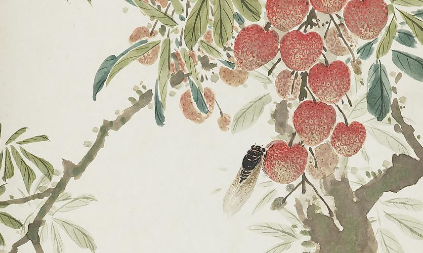 Lychees and cicada