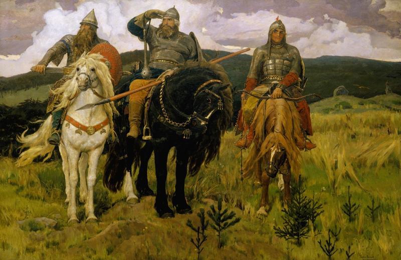 Viktor Vasnetsov, Bogatyrs, 1898