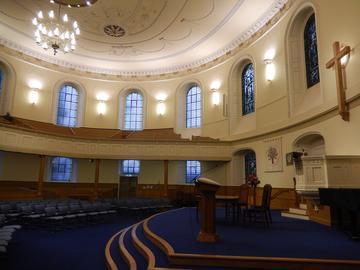 St Andrew's and St George's West, church, Edinburgh; interior
