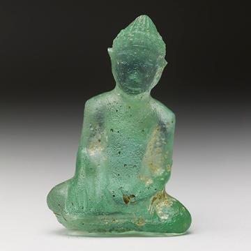 glass buddha