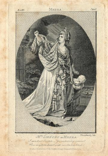 Sarah Siddons as Medea, 1792