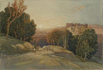 Sunset in the Cotswolds - Frederick Landseer Maur Griggs