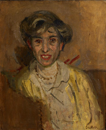 Ethel Sands by Walter Sickert
