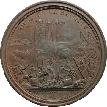 Bronze medalltion