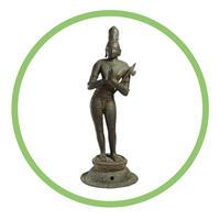 Indian Bronze Figure